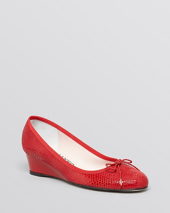 Paul Mayer Demiwedge Pumps - Noble