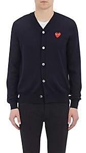 Comme des Garcons Men's Wool Cardigan - Navy