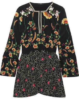 Etro - Floral-print Silk Crepe De Chine Blouse - Black $1,250 thestylecure.com
