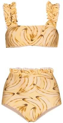 Adriana Degreas muse print bikini