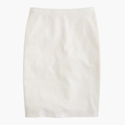 J.CrewPetite pencil skirt in stretch cotton