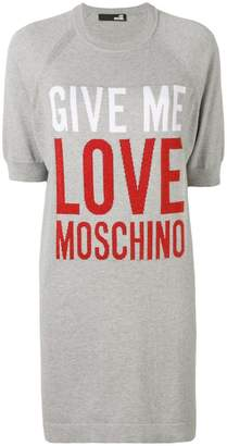 Love Moschino Give Me Love dress