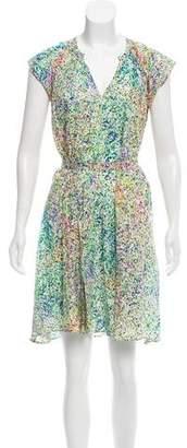 Saloni Sleeveless Knee-Length Dress