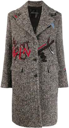 Ermanno Scervino Bouclé wool coat