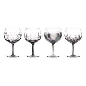 Waterford Crystal Gin Journey Balloon Mixed Set Of 4