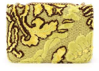 Couture Brooch (クチュール ブローチ) - Couture brooch Casselini ゴブランタッチコンパクトバッグ