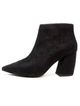 Jeffrey Campbell Textured Black Booties
