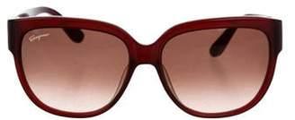 Salvatore Ferragamo Oversize Tinted Sunglasses