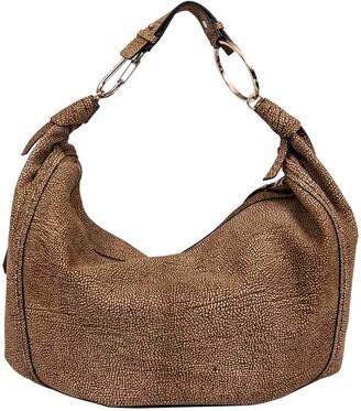 Borbonese Large Hobo Orbit Shoulder Bag