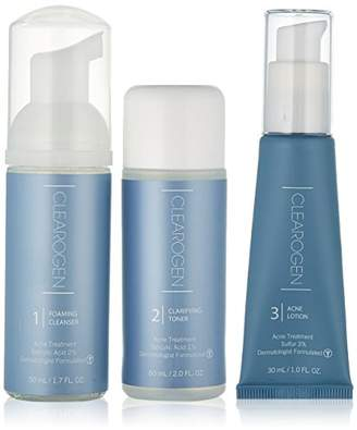 Clearogen Sensitive Skin Acne Treatment Set with Sulfur Lotion