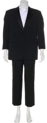 Armani Collezioni Cropped Wool Suit