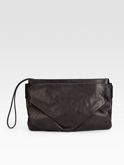 Maison Martin Margiela Leather Fold Clutch