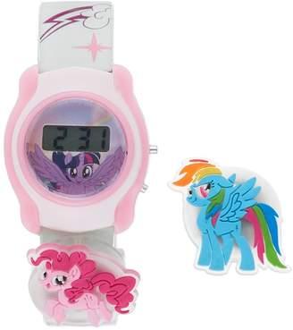 My Little Pony Rainbow Dash, Pinkie Pie & Twilight Sparkle Kids' Digital Charm Watch