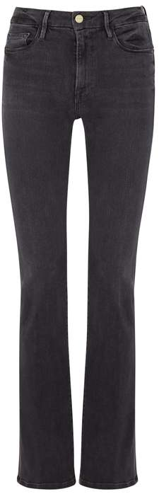 Le Crop Mini Boot Grey Jeans