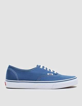 Vans Authentic Sneaker in Navy
