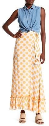 Lovers + Friends Of the Night Polka Dot Pompom Skirt