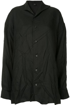 Y's crinkled classic shirt