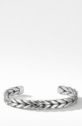 David Yurman Chevron Woven Cuff Bracelet