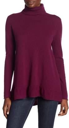 Velvet by Graham & Spencer Merrit Cashmere Turtleneck Sweater