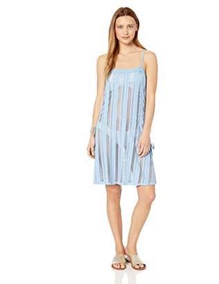 Ella Moss Women's Standard Slit Side Swimsuit Cover Up Dress