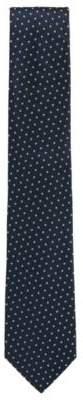 BOSS Hugo Polka Dot Silk Blend Tie One Size Light Blue