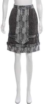 Mayle Knee-Length Pencil Skirt