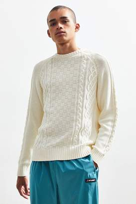 76be150b1a Urban Outfitters Cable Knit Crew-Neck Sweater