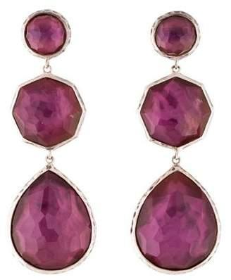 Ippolita Quartz & Mother of Pearl Drop Earrings