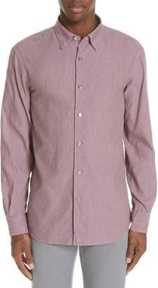 Ermenegildo Zegna Regular Fit Print Sport Shirt