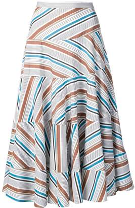 Isa Arfen pleated A-line skirt