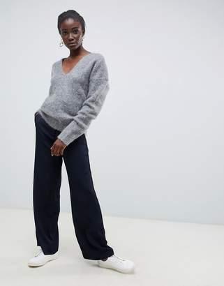 Asos mohair v-neck sweater