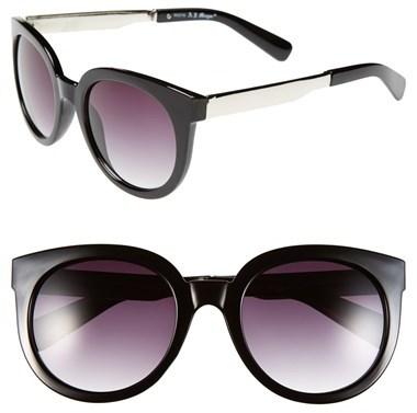 A. J. Morgan A.J. Morgan 'Classy' 50mm Retro Sunglasses