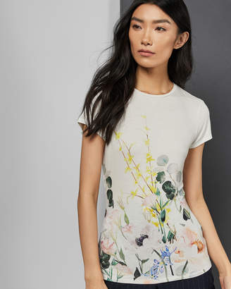 Ted Baker BOBIIEE Elegance fitted T-shirt