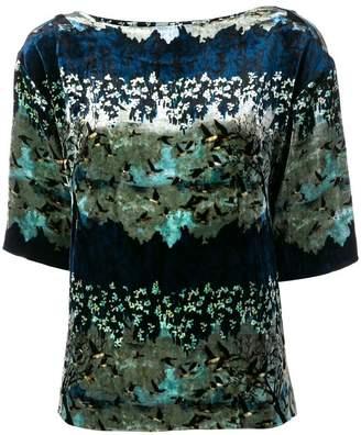 AILANTO floral print blouse