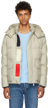 Moncler Grey Down Glacier Jacket