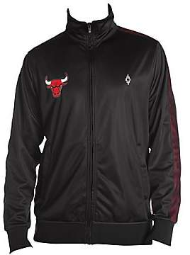 Marcelo Burlon County of Milan Men's Chicago Bulls Logo Tracksuit Jacket