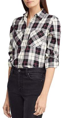 Ralph Lauren Plaid Utility Shirt
