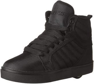 Heelys Boy's Uptown Running Shoes, Black/Disco Glitter