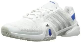 reputable site 90887 7ffcf adidas Men s Adipower Barricade 8 Tennis Shoe-Running White Metallic ...