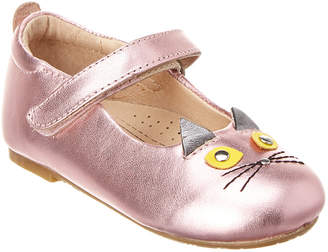 Old Soles Glam Cat Leather Flat