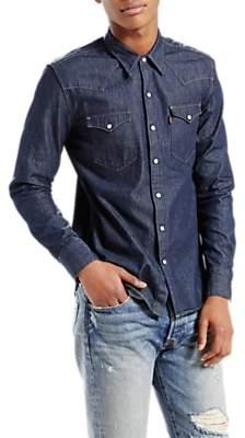 16ed007e52e6 Levi's Barstow Western Denim Shirt, Indigo