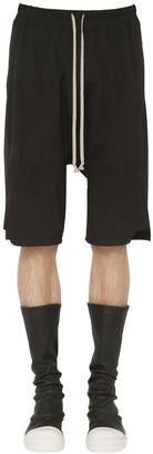Stretch Cotton Jersey Shorts $589 thestylecure.com
