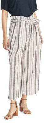 Rachel Roy Nancy Striped Paperbag Pants