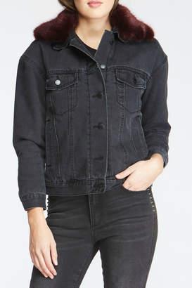 Velvet Heart Phyllis Jacket w Faux Fur Collar