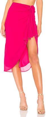 Lovers + Friends Bailey Wrap Skirt