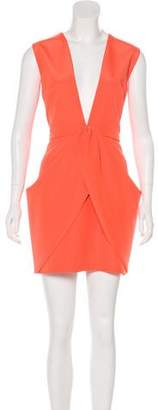 Finders Keepers Plunging Neck Mini Dress w/ Tags