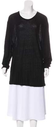 Alexander Wang Slub Knit Silk-Blend Top