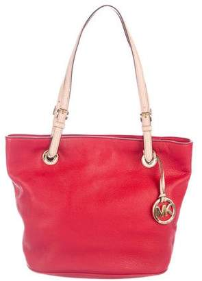 MICHAEL Michael Kors Pebbled Leather Tote