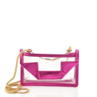 Saint Laurent Betty Purple Plastic Handbags