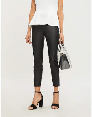 Ted Baker Priala high-rise skinny faux-leather leggings